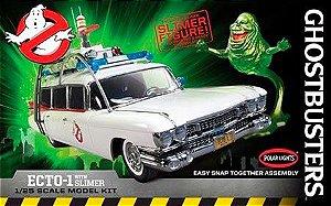 Ghostbusters Ecto-1 com Slimer Figure - 1/25 - NOVIDADE!