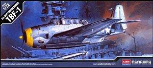Academy - USN Torpedo Bomber TBF-1 - 1/72