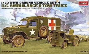 Academy - U.S. Ambulance & Towing Tractor - 1/72