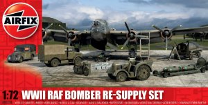 AIRFIX - WWII BOMBER RE-SUPLLY SET - 1/72