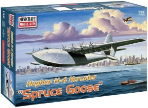 MINICRAFT - Hughes H-4 Hercules Spruce Goose - 1/200 - NOVIDADE!