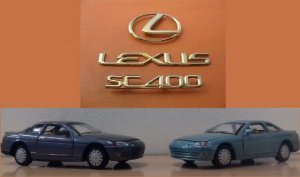 Road Tough - Lexus SC400 - 1/43