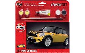 AIRFIX - MINI COOPER S STARTER SET - 1/32
