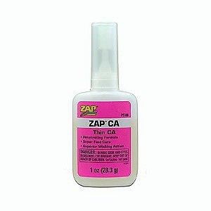 ZAP - Cola de cianoacrilato 1 oz. (28,3 g) Zap CA - Baixa viscosidade
