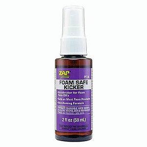 ZAP - Acelerador de cura para colas de cianoacrilato (59 ml) Zap Foam Safe Kicker