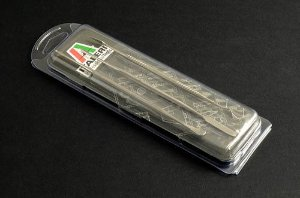 ITALERI - Jogo de minientalhadeiras de aço inoxidável (3)