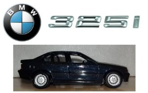 Road Tough - BMW 325i - 1/43