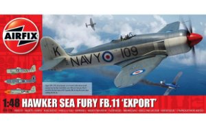 AIRFIX - HAWKER SEA FURY FB.11 ´Export´- 1/48