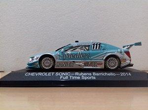 Coleção Stock Car - Chevrolet Sonic Stock Car 2014  - 1/43