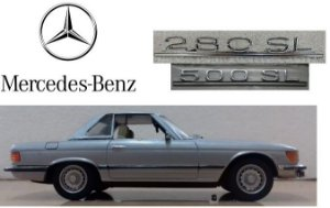 Minichamps - Mercedes-Benz 280SL-500SL - 1/43