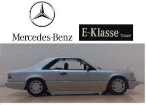 Minichamps - Mercedes-Benz E-Klasse Coupé - 1/43