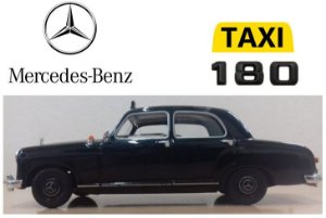 Minichamps - Mercedes-Benz 180 Taxi 1955 - 1/43