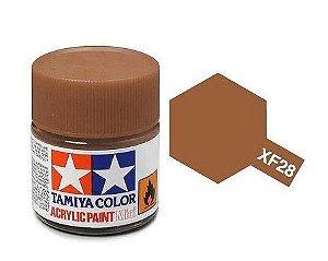 Tinta Tamiya para plastimodelismo - Acrílica mini XF-28 Cobre escuro - 10 ml