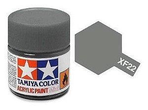 Tinta Tamiya para plastimodelismo - Acrílica mini XF-22 RLM Cinza - 10 ml - NOVIDADE!