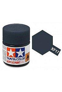 Tinta Tamiya para plastimodelismo - Acrílica mini XF-17 Azul marinho - 10 ml - NOVIDADE!
