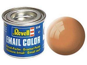 Tinta Revell para plastimodelismo - Esmalte sintético - Marrom África fosco - 14ml