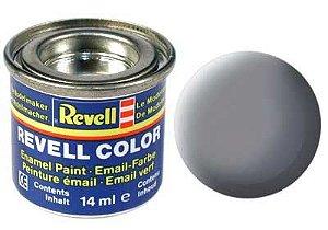 Tinta Revell para plastimodelismo - Esmalte sintético - Cinza rato fosco - 14ml