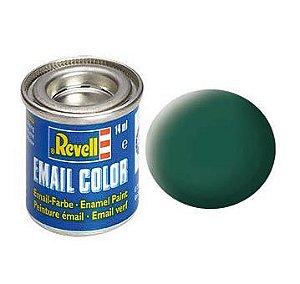 Tinta Revell para plastimodelismo - Esmalte sintético - Verde mar fosco - 14ml