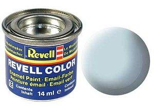 Tinta Revell para plastimodelismo - Esmalte sintético - Azul claro fosco - 14ml
