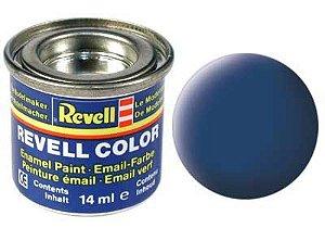 Tinta Revell para plastimodelismo - Esmalte sintético - Azul fosco - 14ml