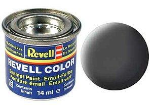 Tinta Revell para plastimodelismo - Esmalte sintético - Cinza oliva - 14ml