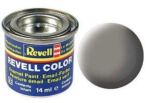 Tinta Revell para plastimodelismo - Esmalte sintético - Cinza pedra fosco - 14ml
