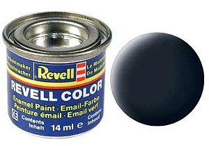 Tinta Revell para plastimodelismo - Esmalte sintético - Cinza Tanque - 14ml