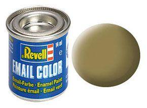 Tinta Revell para plastimodelismo - Esmalte sintético - KHAKI fosco - 14ml
