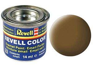 Tinta Revell para plastimodelismo - Esmalte sintético - Marrom terra fosco - 14ml