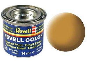 Tinta Revell para plastimodelismo - Esmalte sintético - Ocre fosco - 14ml