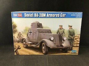 HOBBY BOSS - BA-20M Armored Car - 1/35
