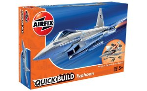 AIRFIX QUICK BUILD - EUROFIGHTER TYPHOON