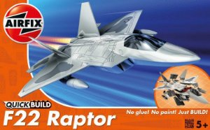 AIRFIX QUICK BUILD - F-22 RAPTOR