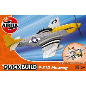 AIRFIX QUICK BUILD - MUSTANG P-51D