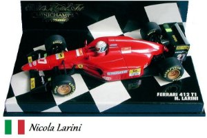 Minichamps - Ferrari 412 T1 F1 1994 - 1/43