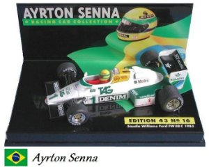Minichamps - Williams FW08C Ford F1 1983 - 1/43