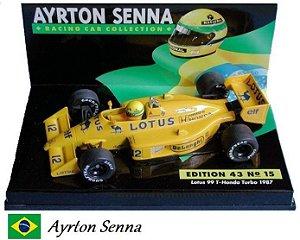 Minichamps - Lotus 99T Honda F1 1987 - 1/43