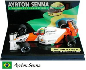 Minichamps - McLaren MP4/7 Honda F1 1992 - 1/43