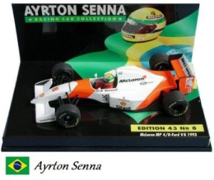 Minichamps - McLaren MP4/8 Ford F1 1993 - 1/43