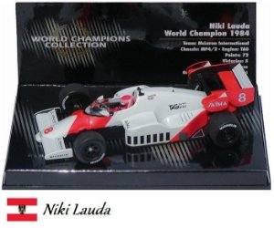 Minichamps - McLaren MP4/2 TAG-Porsche F1 1984 - 1/43