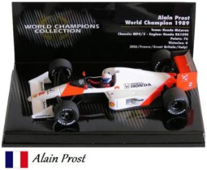 Minichamps - McLaren MP4/5 Honda F1 1989 - 1/43