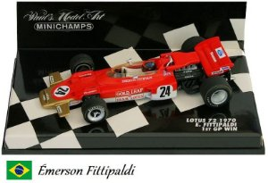 Minichamps - Lotus 72 Ford F1 1970 - 1/43