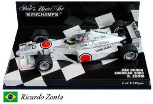 Minichamps - British American Racing BAR 002 Honda F1 2000 (Showcar) - 1/43