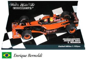 Minichamps - Arrows A23 Cosworth F1 2002 (Showcar) - 1/43