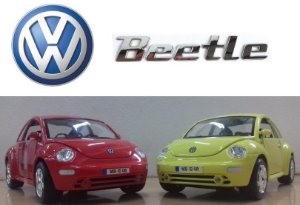 Burago - Volkswagen New Beetle - 1/24