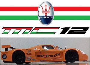 Burago - Maserati MC12 - 1/24