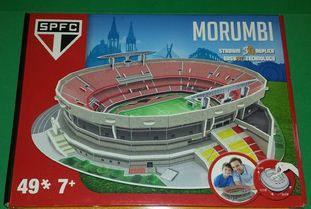NanoStad/Del Prado - Morumbi (São Paulo FC) - 49 pçs.