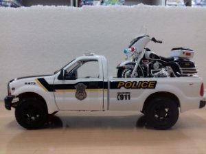 Maisto - Ford F-350 Super Duty Pick-Up 1999 - Police (Harley Davidson Style) - 1/27