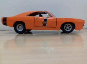 Maisto - Dodge Charger R/T 1969 Harley Davidson Style - 1/25
