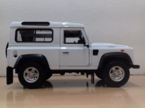 Welly - Land Rover Defender - 1/24
